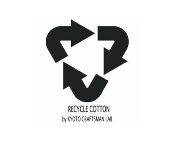 Recycle Cotton Tee, Kyoto  Craftsman Lab